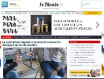 Franta: cotidianul Le Monde...