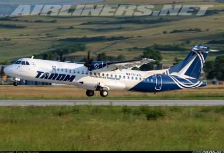 Zborurile Tarom spre şi dinspre Marea Britanie vor fi suspendate temporar