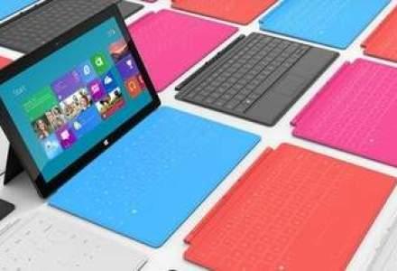Microsoft a lansat o tableta Surface care face concurenta laptopurilor