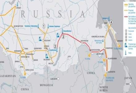 Rusia si China au semnat acordul de livrare de gaze pe 30 de ani