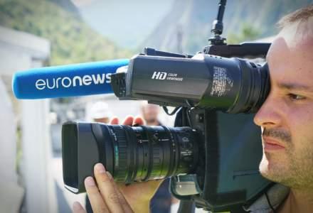 Euronews va lansa un canal TV de știri în România