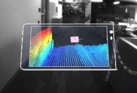 Google intra in lumea gadget-urilor 3D prin dezvoltarea unei tablete cu senzori de profunzime
