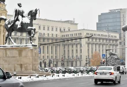 Prognoza meteo București: Se anunță ninsori și vânt puternic