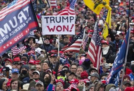 Gluma se ingroașă în SUA: Susținătorii lui Trump plănuiesc pe rețelele sociale asedierea Washington în weekend