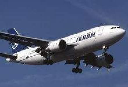 Aeronava Tarom care a aterizat de urgenta la Madrid avea o fisura la geamul cabinei