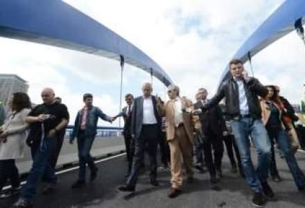 Soferii pot circula pe primul pod al pasajului Mihai Bravu-Splaiul Unirii din Capitala