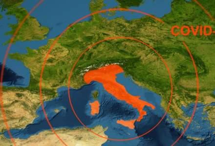 "Italia impune restricții mai dure împotriva COVID-19: trei zone devin ""roșii"""