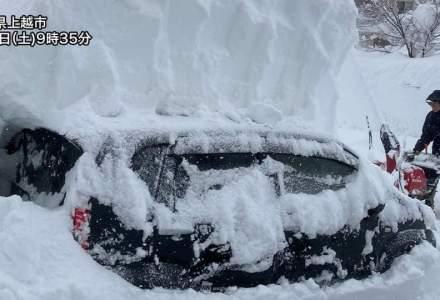 Accident în lanț pe o autostradă din Japonia: peste 130 de mașini implicate