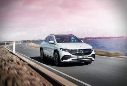 Mercedes-Benz a prezentat modelul electric EQA