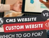 CMS, Site Builder sau Soluție...