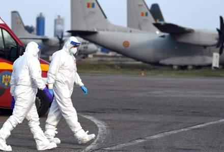 România a adus în țară cinci tone de materiale sanitare din Qatar