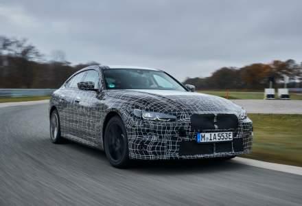 BMW face ultimele teste cu modelul electric care accelerează în 4 secunde până la 100 km/h