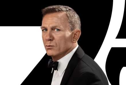 "Premiera ""No time to die"", filmul cu James Bond, din nou amânat"