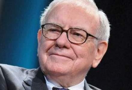 Licitatie caritabila: un pranz cu Warren Buffet, adjudecat pentru 2 mil. dolari