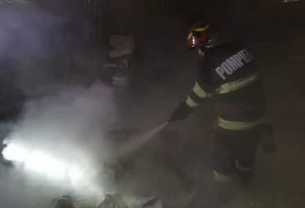 Un autocar cu 44 de pasageri a luat foc