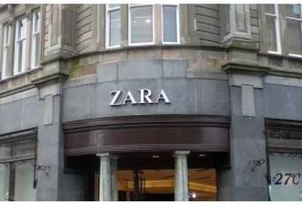 Proprietarul Zara a facut profit de 25 mil. euro in Romania, cu 20% mai mare