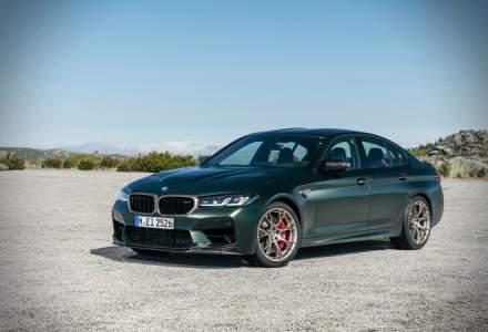 Cel mai performant BMW M5 construit vreodată accelerează în 3 secunde până la 100 km/h