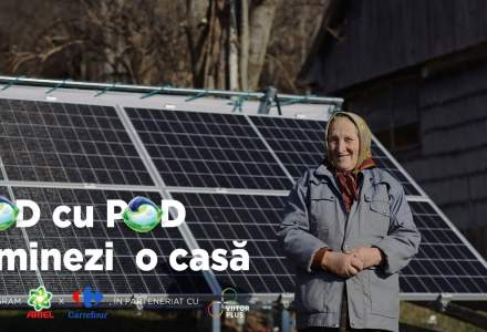 (P) Locuitori din comuna Scărișoara se bucură pentru prima dată de energie electrică