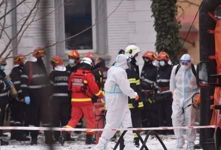 Anchetatorii reiau cercetarea la faţa locului în cazul incendiului de la 'Matei Balş'