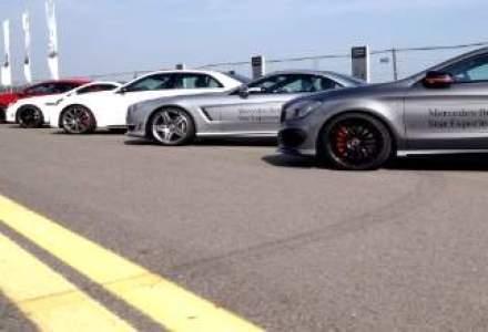 Mercedes-Benz Roadshow: experienta AMG pe pista aeroportului Baneasa