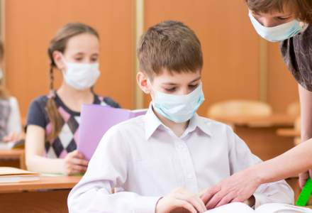 Ce se întâmplă dacă un copil prezintă simptome COVID-19 la școală. Clarificări de la Ministerul Educației