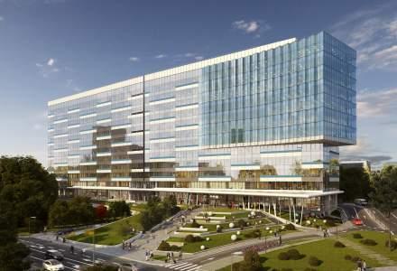 Skanska investește 45 milioane euro în extinderea unui proiect de spații de birouri din București