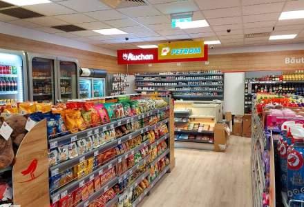 OMV Petrom și Auchan au deschis opt magazine de proximitate