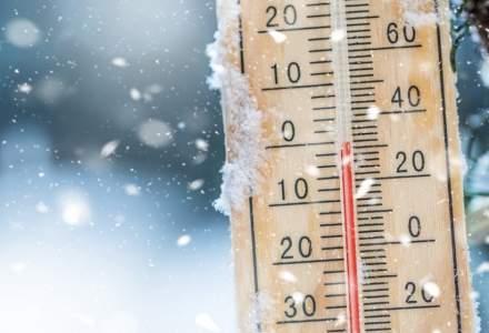 Temperaturile scad brusc cu până la 15 grade