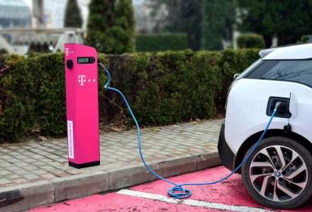 Telekom Romania instalează staţii de încărcare a maşinilor electrice