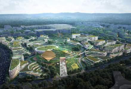 """Un nou """"oraș al viitor"""" în China - proiectul a fost prezentat deja, iar lucrările vor începe încă din acest an"""