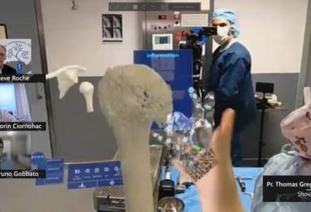 """Medicina """"viitorului"""": cum au operat 13 chirurgi folosind realitatea mixtă"""