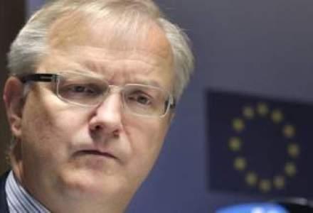 Comisarul pentru Afaceri Europene Olli Rehn a demisionat din functie