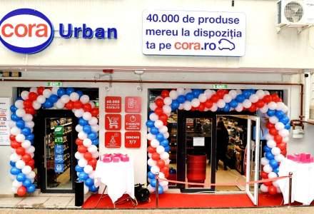 [FOTO] Cora inaugurează un nou concept de magazin: Cora Urban
