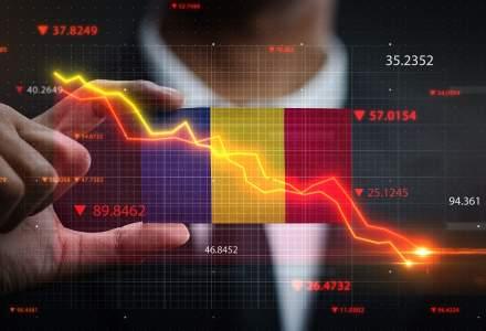 INS: Economia României a scăzut cu 3,9% în 2020