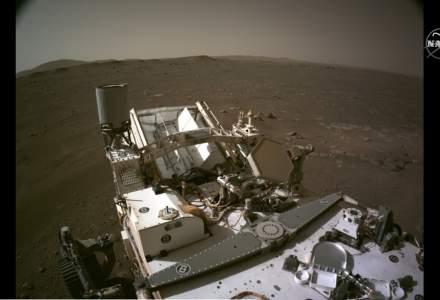 Misiunea de pe Marte - Cum arată prima filmare făcută pe Planeta Roșie și cum sună prima înregistrare făcută pe solul planetei