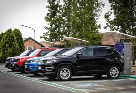 Două SUV-uri hibride Jeep vor ajunge în vară în România
