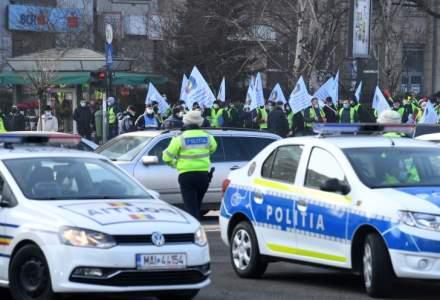 Câte amenzi au aplicat jandarmii sindicaliștilor din Poliție
