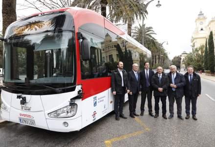 Premieră în Europa: Un autobuz fără şofer a început să circule pe străzile din Malaga, în sudul Spaniei
