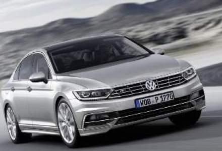Volkswagen a dezvaluit a opta generatie Passat, cu un design asemanator cu Phaeton
