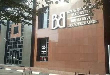 Bursa de la Bucuresti a scazut miercuri cu 0,8%, trasa in jos de actiunile din energie
