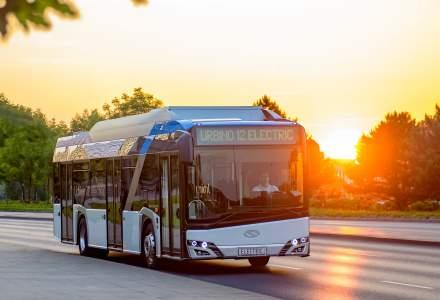 Nouă autobuze electrice vor fi livrate la Sibiu