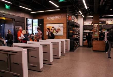 """Amazon a deschis la Londra un supermarket """"fără contact"""" şi fără case de marcat"""