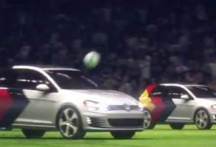 VW sarbatoreste victoria Germaniei la Cupa Mondiala cu un spot inedit