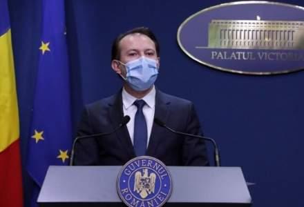 Premierul Florin Cîțu a cerut ca a treia etapă a campaniei de vaccinare să înceapă mai devreme