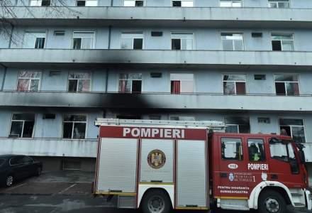 Incendiul de la Matei Balș: ce a descoperit corpul de control al prim-ministrului