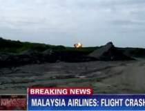 Momentul prabusirii avionului...