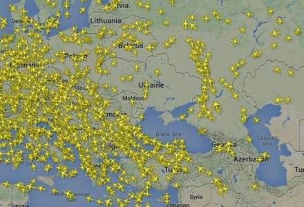 Zeci de avioane ocolesc Ucraina: cum arata spatiul de zbor al tarii vecine dupa incidentul aviatic unde sute de oameni si-au pierdut viata [FOTO]
