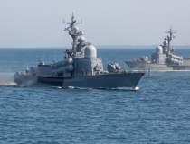 O navă rusească s-a scufundat...