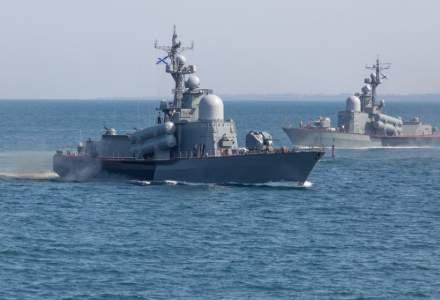 O navă rusească s-a scufundat în Marea Neagră