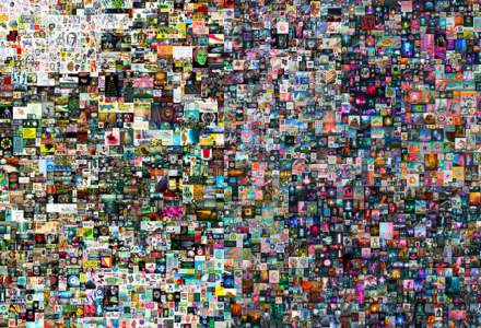 """O """"operă de artă digitală"""" a fost vândută la licitație pentru suma record de 69,3 milioane de dolari"""